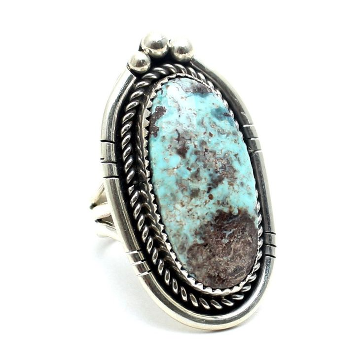 Ocean Storm Native American Ring