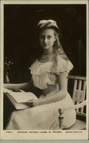 Victoria Princess Frericu (Iii Of Prussim) Eldest Daughter Of Queen Victoria
