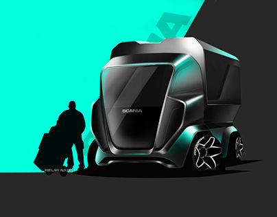 """Check out new work on my @Behance portfolio: """"SCANIA  CONCEPT"""" http://be.net/gallery/47028583/SCANIA-CONCEPT"""