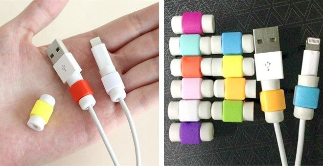 iPhone-iPad Cord Protector Only $1.99! (Perfect Stocking Stuffer!)