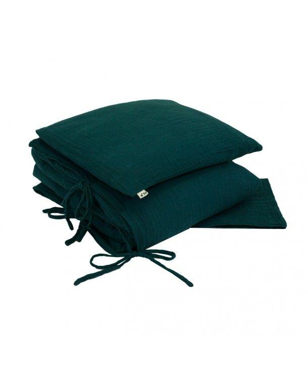 Duvet Cover Set teal blue