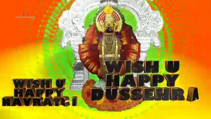Happy Dussehra,Happy Navratri,Happy Durga Puja Greetings Video
