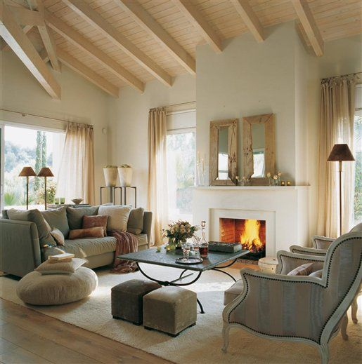 Love the ceiling and really everything home decor living rooms pinterest fireplaces Pinterest everything home decor
