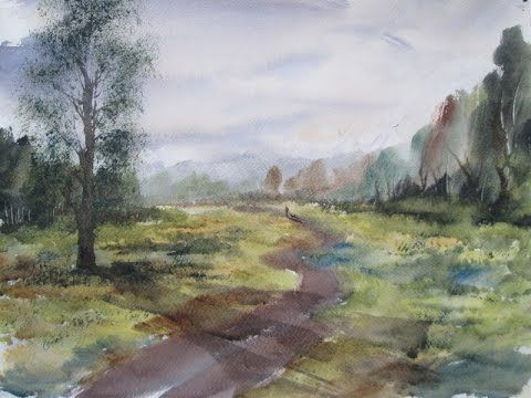 Sutton Park watercolour painting lesson