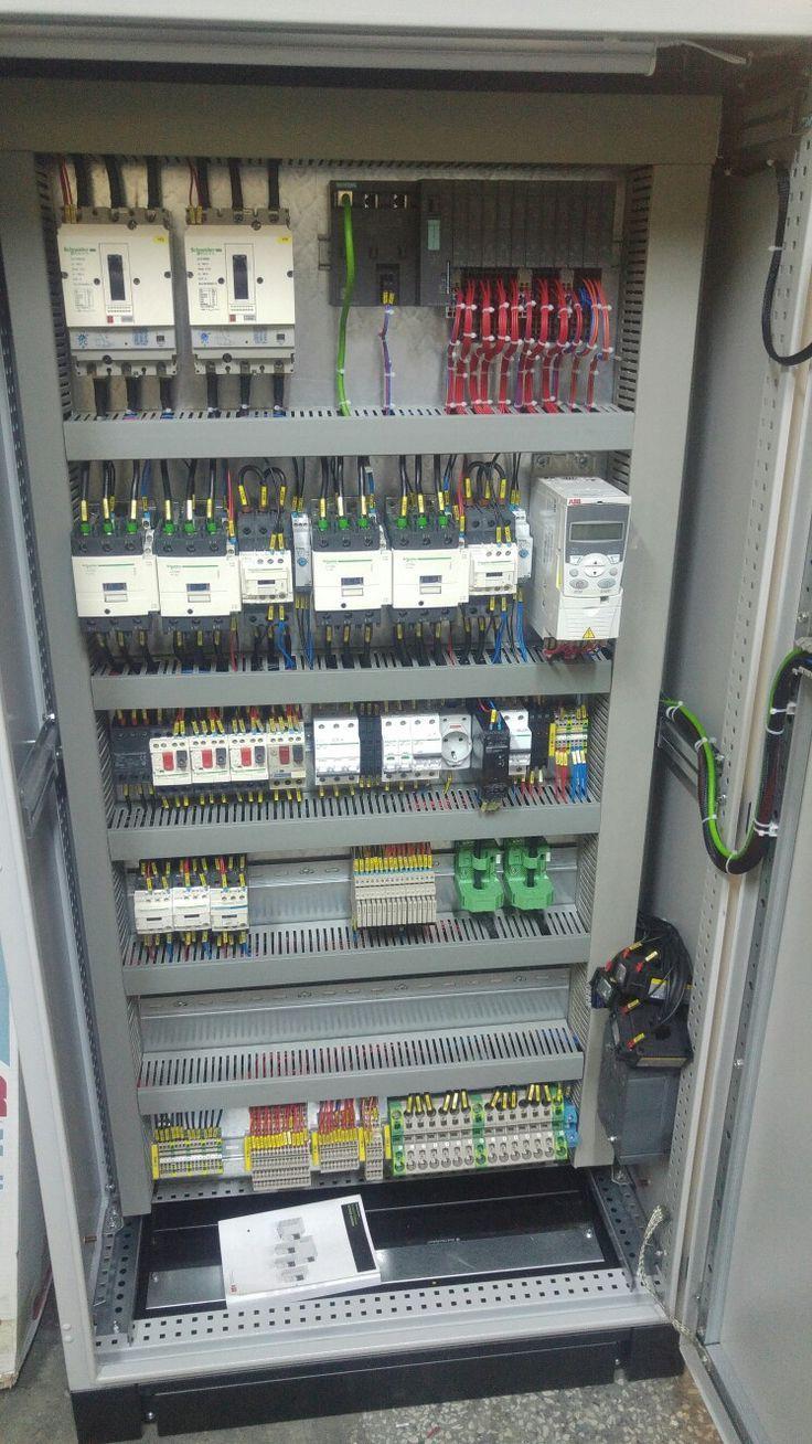 Kakao Cekirdegi Ogutme Makina Panosu Electrical Circuit Diagram Electrical Wiring Electronics Projects Diy