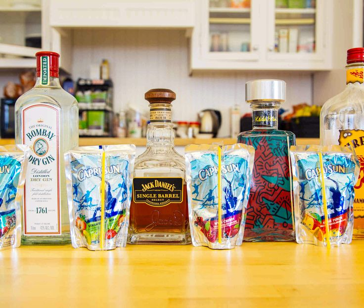 Alcoholic Capri Sun Cocktails - Nostalgic 90s Snacks - Thrillist