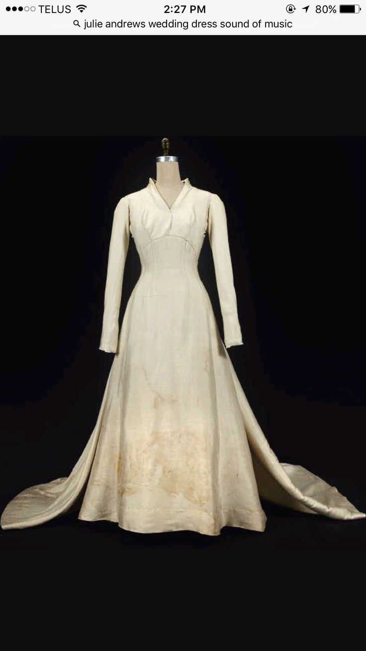 9 best wedding gowns - julie andrews - maria s&m images on