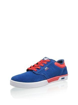 DVS Men's Vapor Skate Shoe (Blue Suede FA 13)