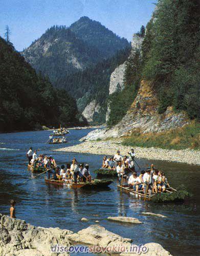 Dunajec splav plti slovensko