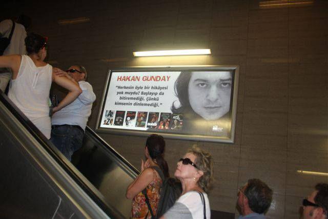 Hakan Günday-metro