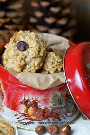 In meiner Weihnachtsbäckerei: die weltbesten und saftigsten Haselnussmakronen - Zimtkeks und Apfeltarte