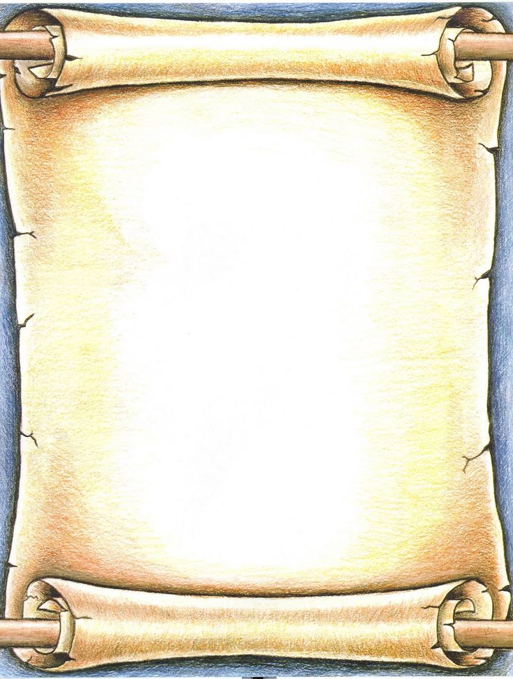 More of the parchment that my characters would be writing on.