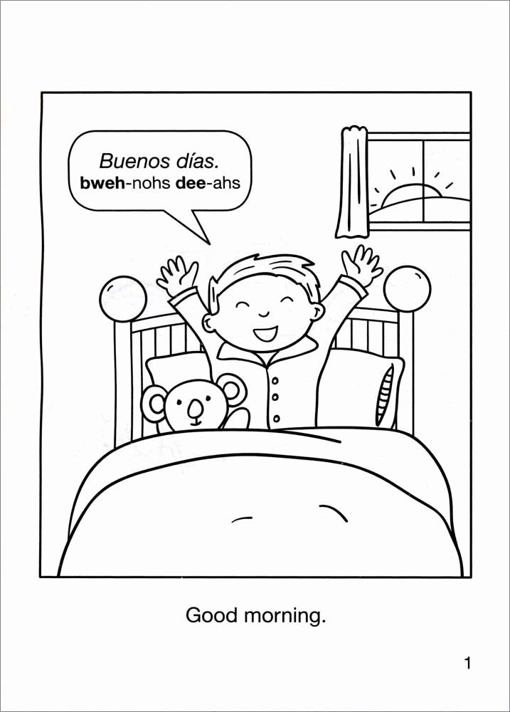 Coloring Book In Spanish New Free Spanish Coloring Worksheets Halloweenfiles Com Simple Spanish Words Coloring Books Learning Spanish