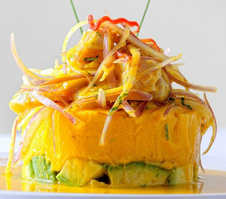 Causa rellena ....Peruvian Food
