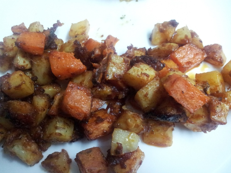 Parmesan roast potatoes from Love The Taste