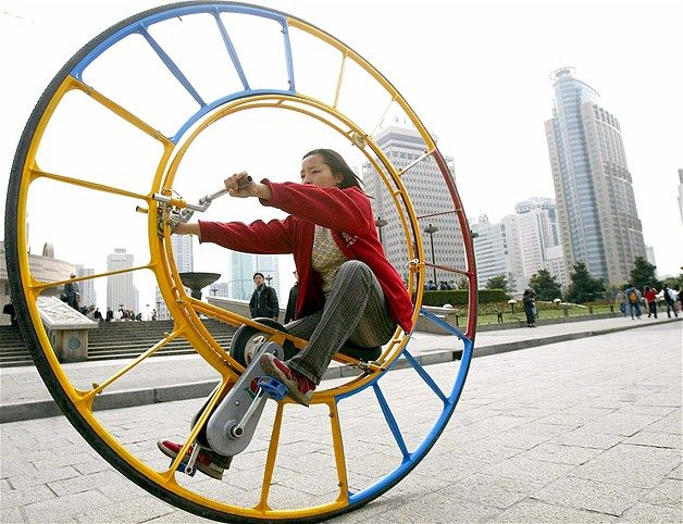 Image: Unicycle (© Reuters)