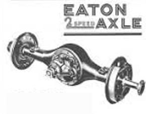 The Eaton 2 speed axle was on many a Australian truck see