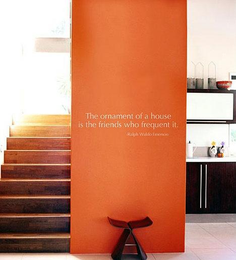Shades Of Orange Paint best 25+ orange accent walls ideas on pinterest | paint ideas for