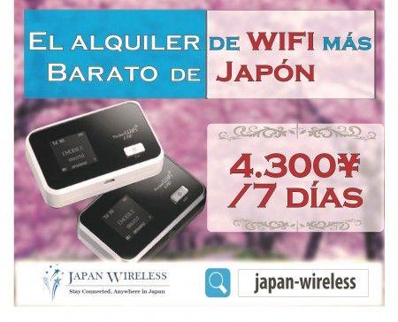 Internet en Japón con Japan Wireless