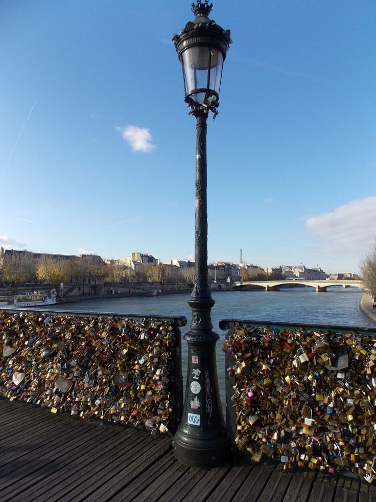 Pont des Arts Locks. Paris. Dec/2013
