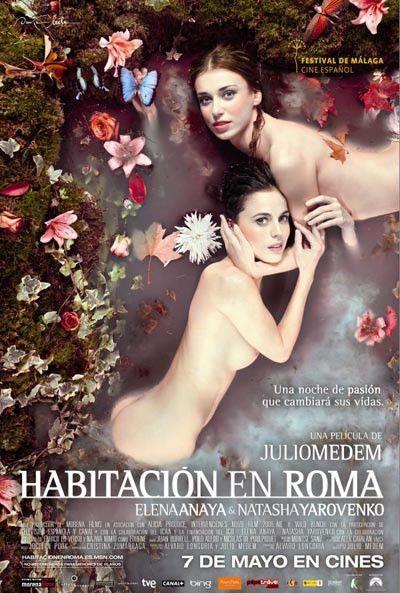 """Sirenas bañadas en leche en el cartel promocional de """"Habitación en Roma"""""""