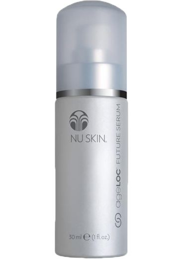 Patented ingredient technology stimulates collagen production by 150% promoting youthful skin structure. (www.nuskin.com/thesource)