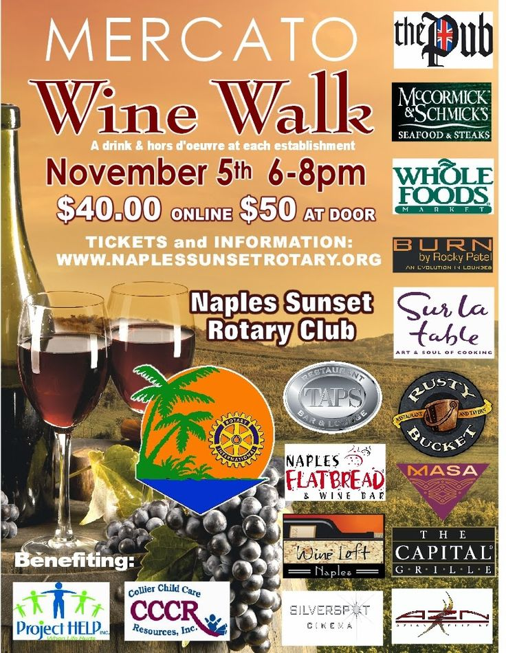 Introducing the two Bands playing at the Wine Walk ...