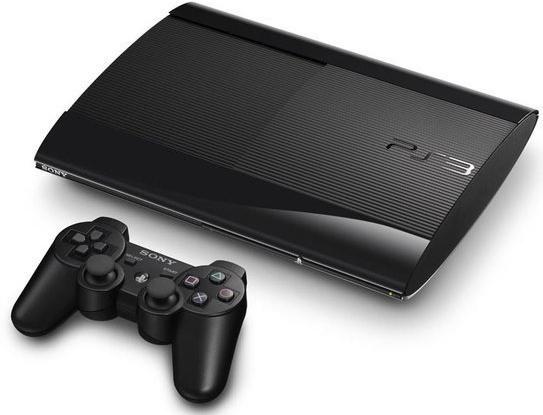 PS3 12GB BLACK