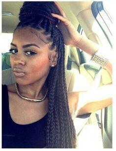 Box braids style