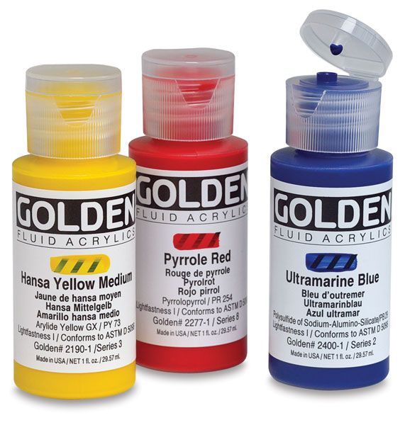 17 best images about golden artist colors on pinterest for How to make fluid acrylic paint