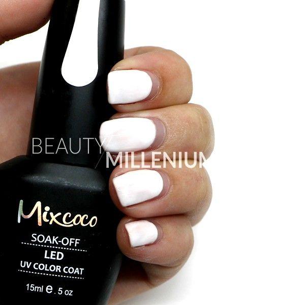 #Mixcoco #gellak #067 'French Manicure' verkrijgbaar via www.beautymillenium.nl…