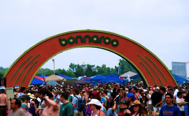 bonnaroo in manchester, TN. definitely one of my favorite places.