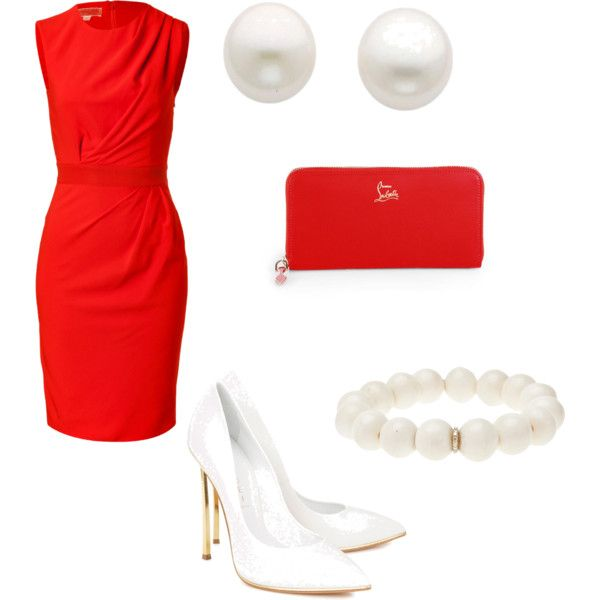 """Red for Clear Spring"" by afstyle on Polyvore"