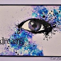 Visible Image stamps - Dreams - Vision INKognito - Dot Leathbridge