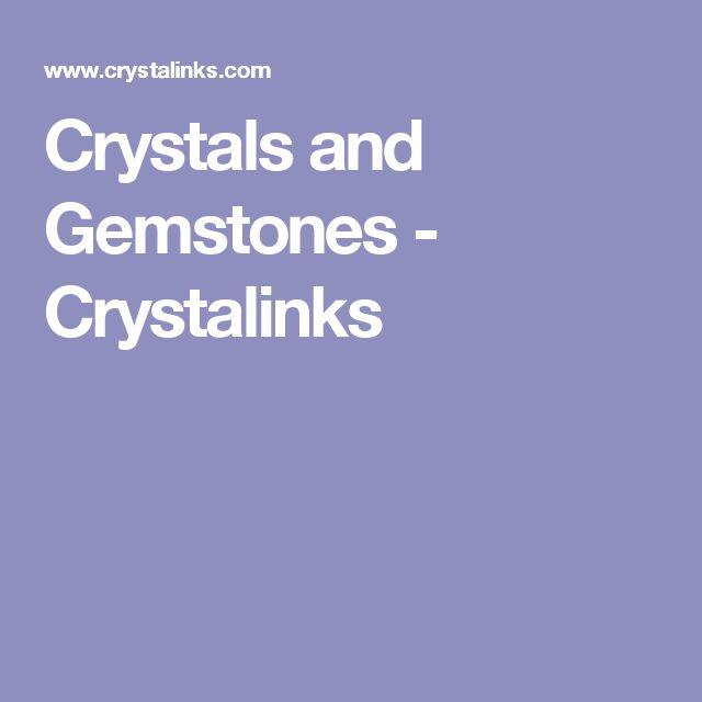Crystals and Gemstones - Crystalinks