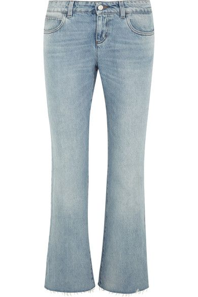 Gucci's jeans are made using the finest Japanese denim - known for its premium construction. Skillfully designed to hit at the ankle with a subtle flare and slightly frayed cuffs, this low-rise style has the most comfortable and flattering fit. Wear yours by day with loafers.
