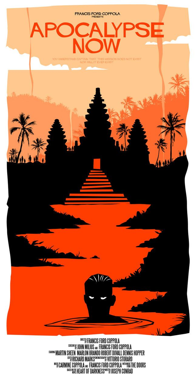 the common aspects in conrads the heart of darkness and the movie apocalypse A teacher's guide to teaching heart of darkness adaptation of conrad's classic a great excuse to watch the famous vietnam war movie apocalypse now.