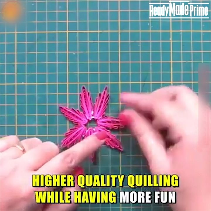 $12.99   ⭐ BRING OUT THE FULLNESS OF YOUR CREATIVITY WITH OUR EASY QUILLING GRID - PRODUCE HIGHER QUALITY QUILLING WHILE HAVING MORE FUN! ⭐  ✅ Easy to Use Needle Drawer ✅ Perfect for Beginners ✅ No More Annoying Measuring