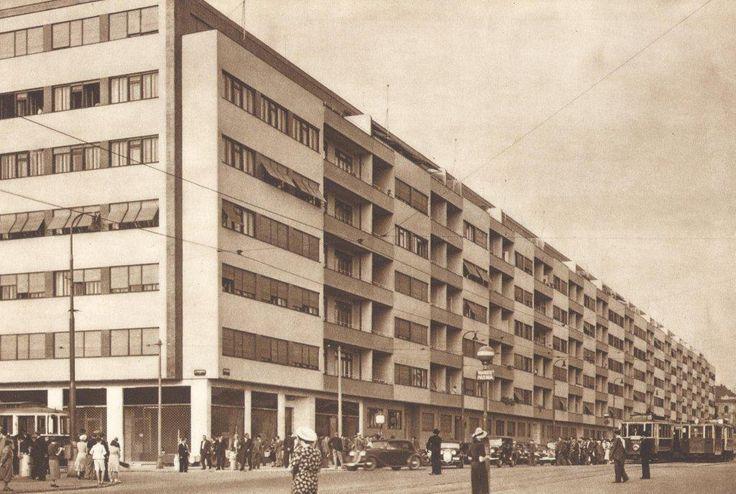 Czech Modernism (Obytne Domy na Letne by Karel Plicka)