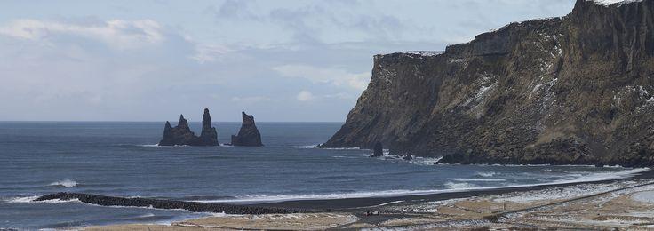 https://flic.kr/p/UzmgCc | Iceland | Iceland. Vik.  For licensing see: www.gettyimages.co.uk/detail/photo/the-sea-stacks-of-reyn...