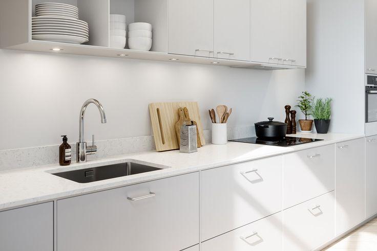 Söker du ett pärlgrått kök? Köksserien system 10 från Ballingslöv finns i varma färger med moderna detaljer.. Hitta din köksinspiration hos Ballingslöv!