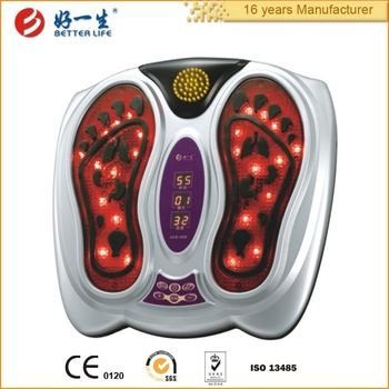 Battery operated portable electric vibrating best foot massage machine