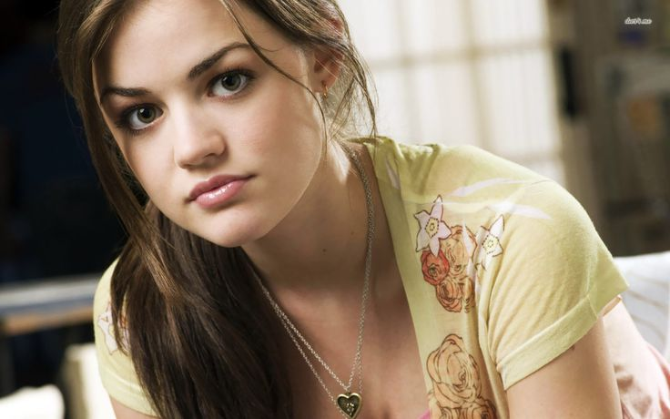 Lucy Hale wallpaper 2013