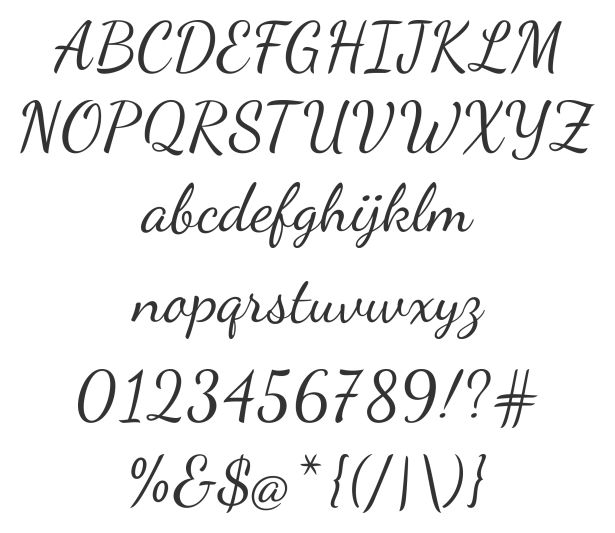Dancing Script Ot Is A Free Really Lovely Font That