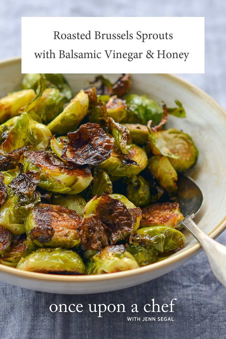 Roasted Brussels Sprouts With Balsamic Vinegar Amp Honey