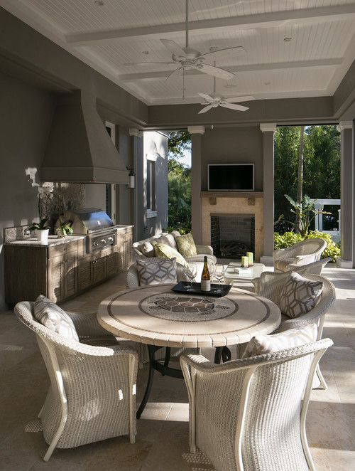 Best 25 florida homes exterior ideas on pinterest for Cost of outdoor living space