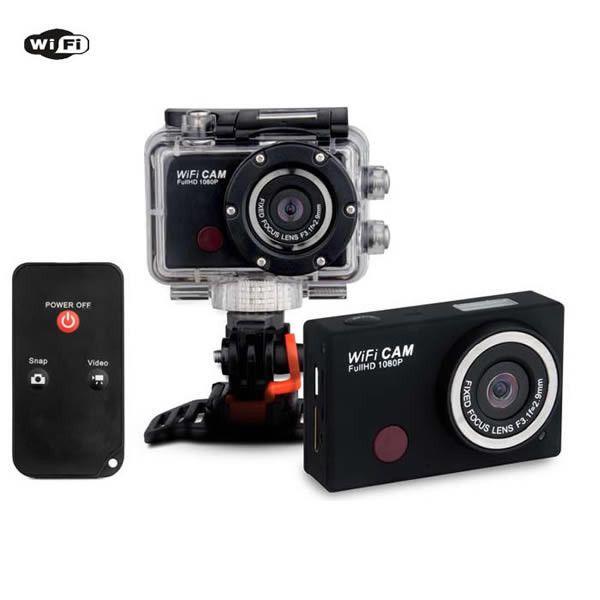 WIFI Action Helmet Camera Outdoor Sports Camcorder Waterproof DVR Recorder 1080P #UnbrandedGeneric