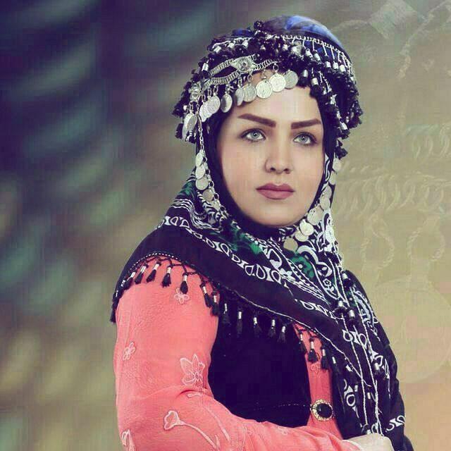 Traditional Kurdish Headgear.