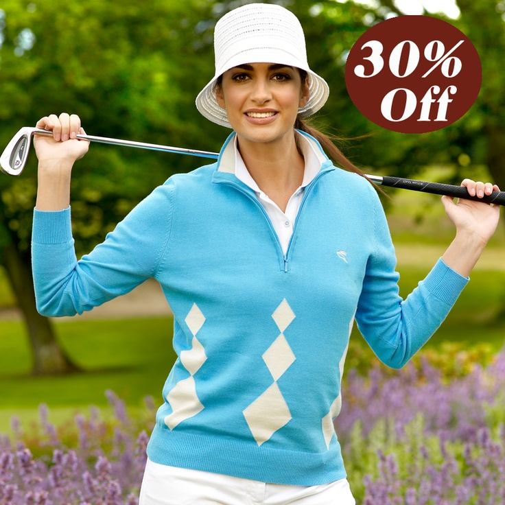 Sweater Beausset was $90 now $63, Only size XS left #ladiesgolf