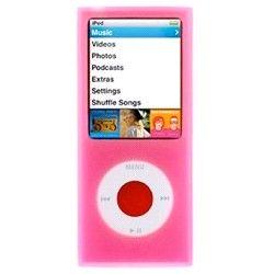 Protection silicone iPod Nano 4 premier prix rose sur http://www.etui-iphone.com/ rubirque #ipod #nano